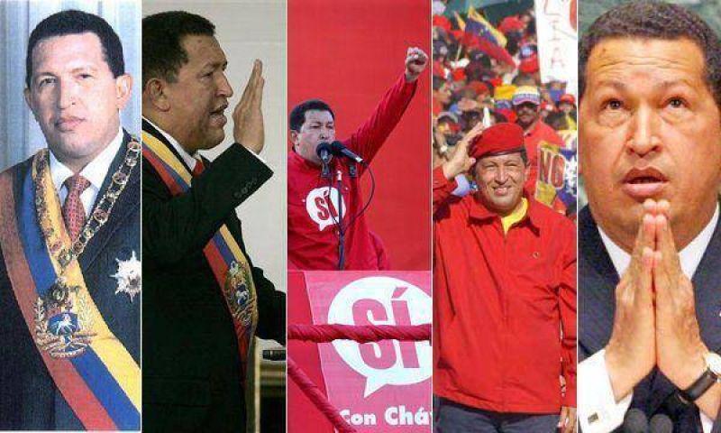 Hugo Chávez llega a la década en el poder, con la obsesión de seguir.