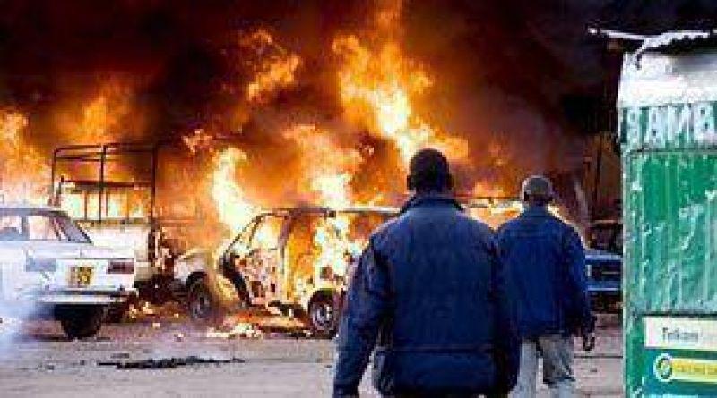 Kenia: al menos 111 muertos por el estallido de un camión.