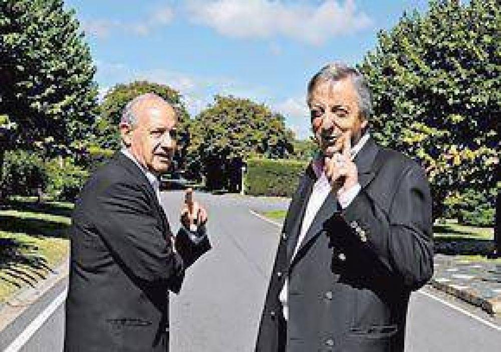 A sólo un año del acuerdo de Olivos, Kirchner y Lavagna ni se hablan