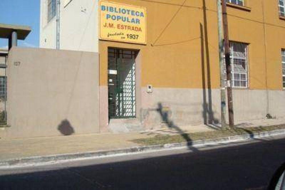 La Biblioteca Estrada retoma las actividades con fuertes desafíos.