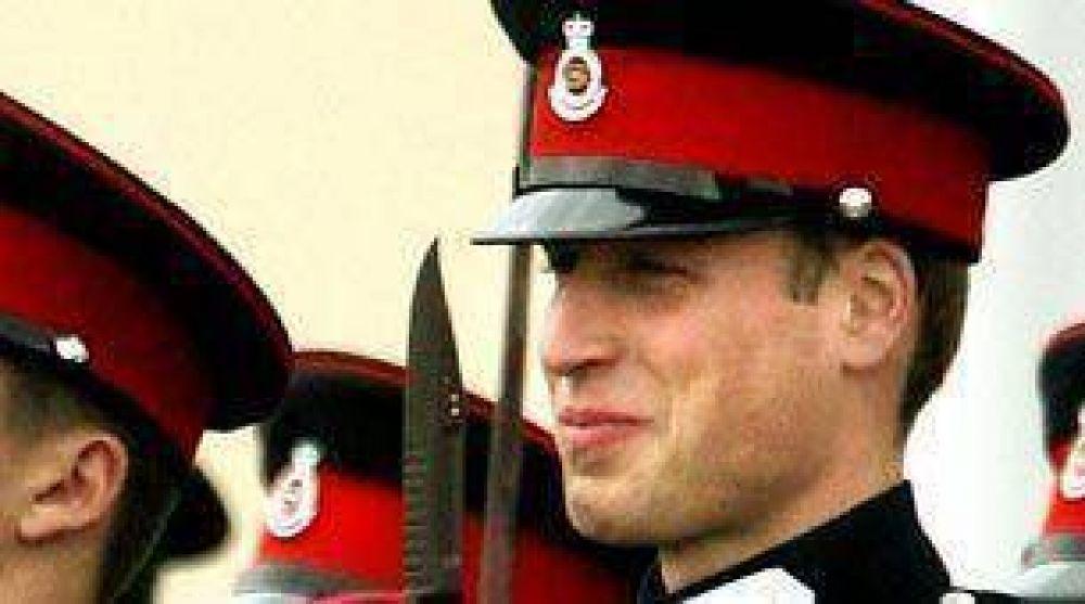 El príncipe William se instalará en Malvinas