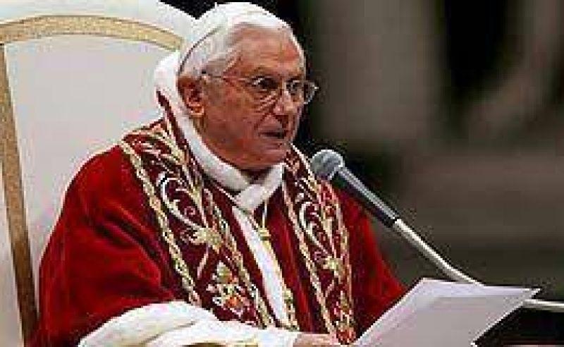 El Papa se pronunció en contra de la eutanasia