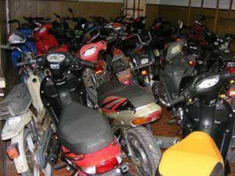 ¿Qué sucede con las motos que secuestran inspectores de tránsito?.