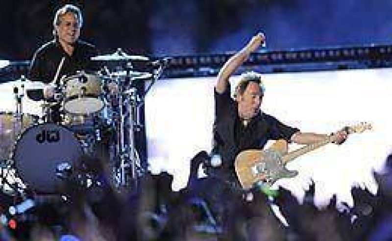 El Super Bowl 43� vibr� al ritmo de Bruce Springsteen.