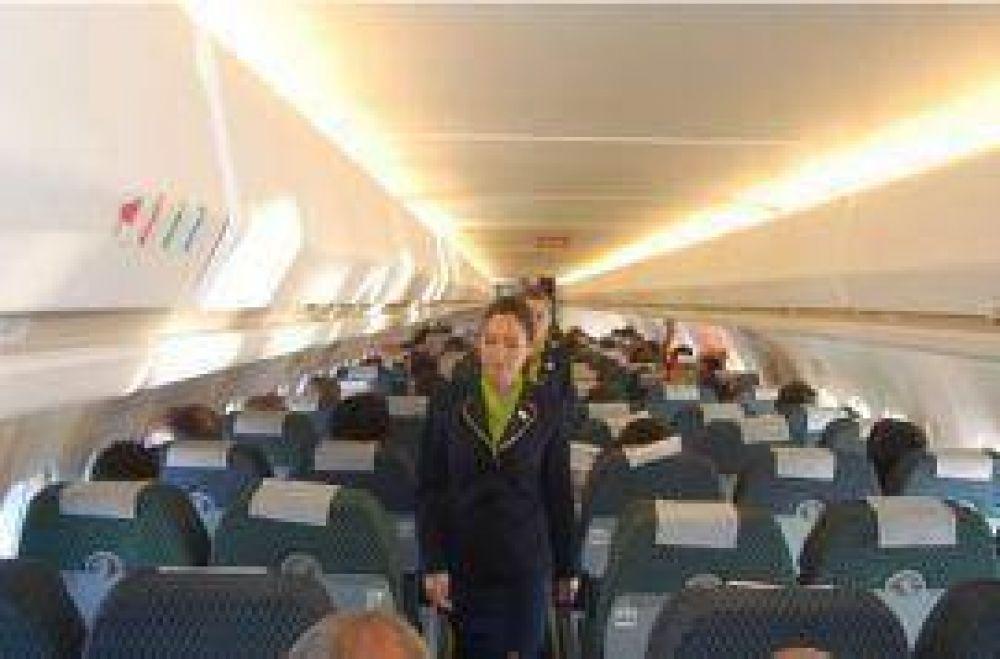 Aerochaco inicia mañana sus vuelos a Córdoba.