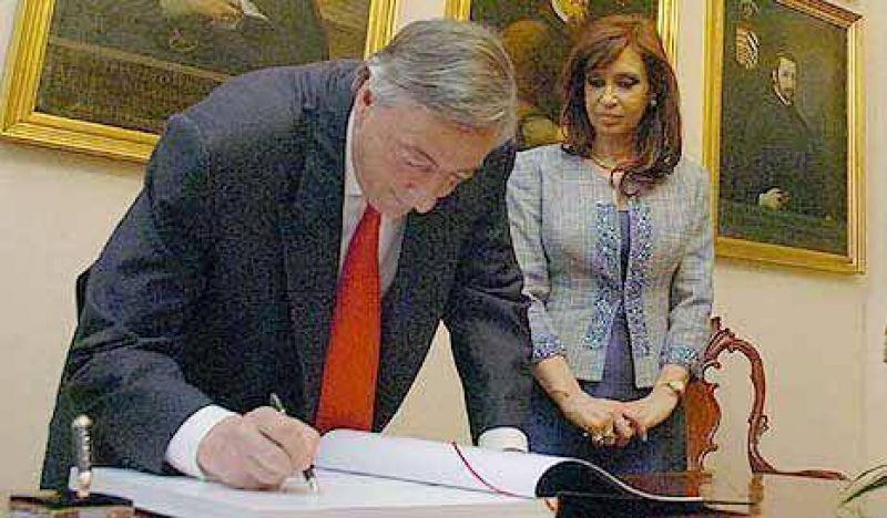 Néstor Kirchner ya ni siquiera finge