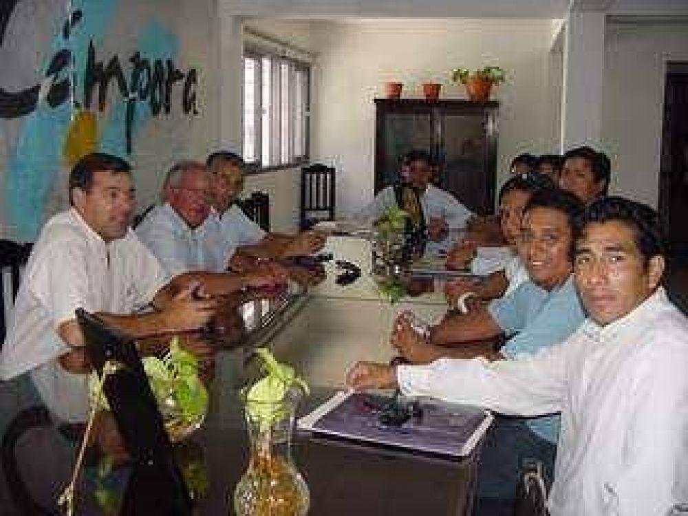 Fellner se reunió con La Cámpora.