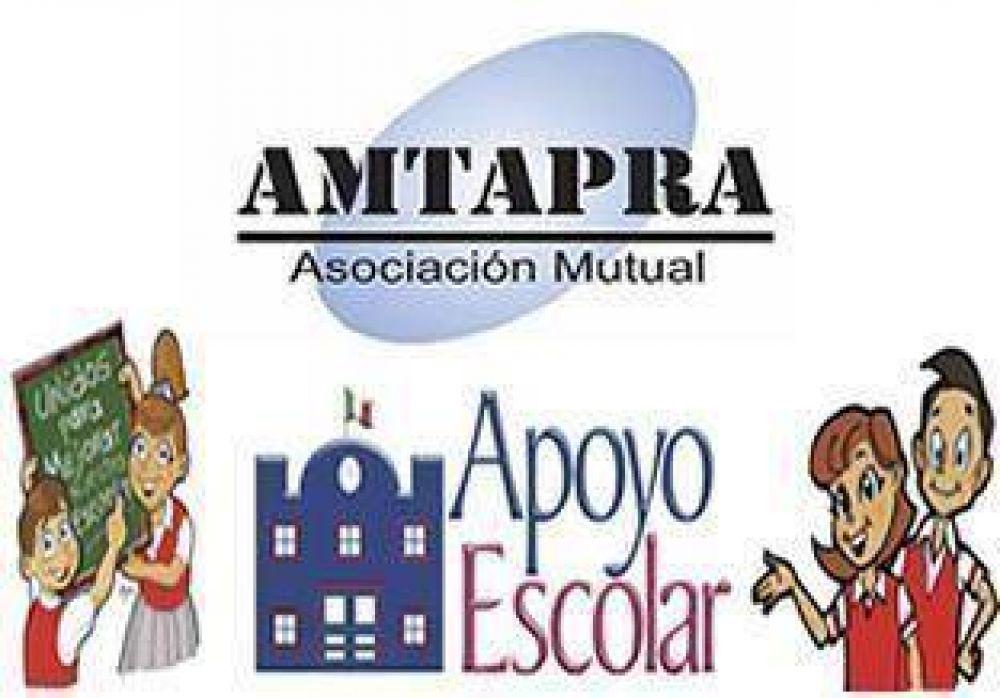 AMTAPRA ofrece apoyo escolar.