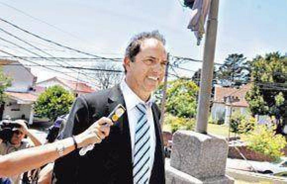 Scioli declara la emergencia y el campo podrá postergar impuestos