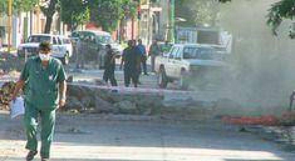 Ruptura de un caño de gas causó pánico a cientos de vecinal.