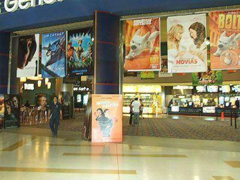 Bajaron las entradas de los cines.