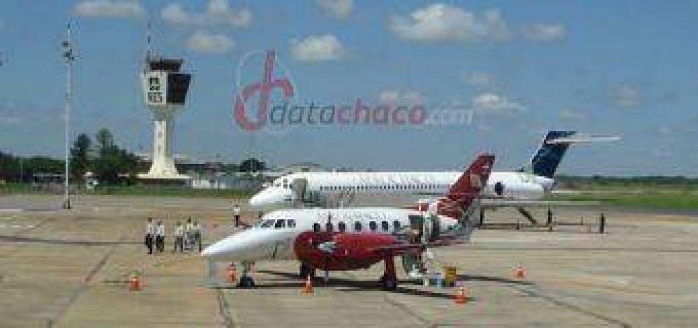 Aerochaco inicia sus vuelos a Córdoba.
