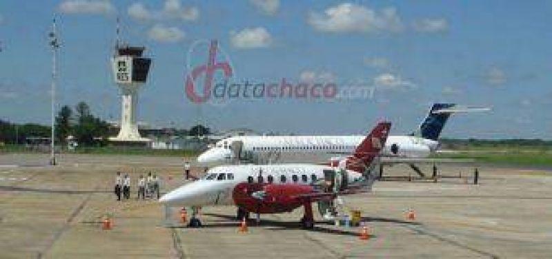 Aerochaco inicia sus vuelos a C�rdoba.