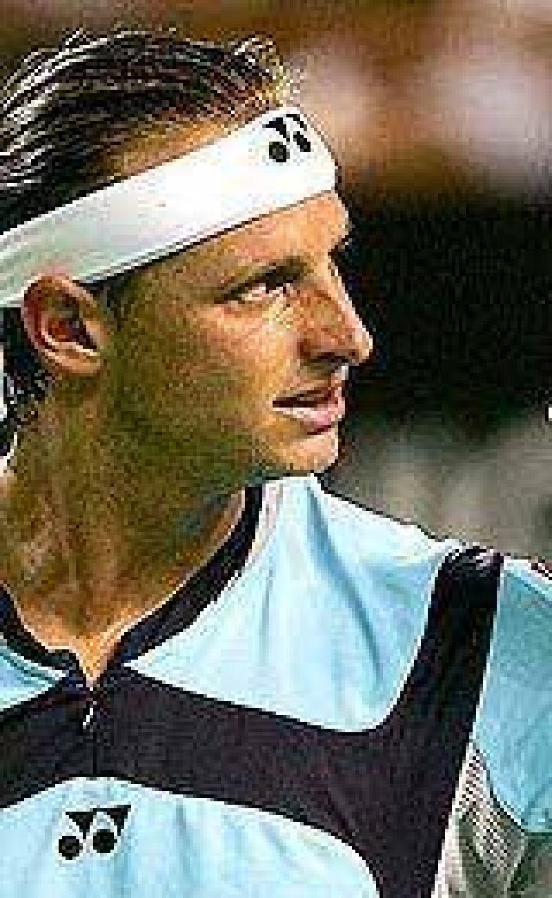 Nalbandian volvió al Top Ten.