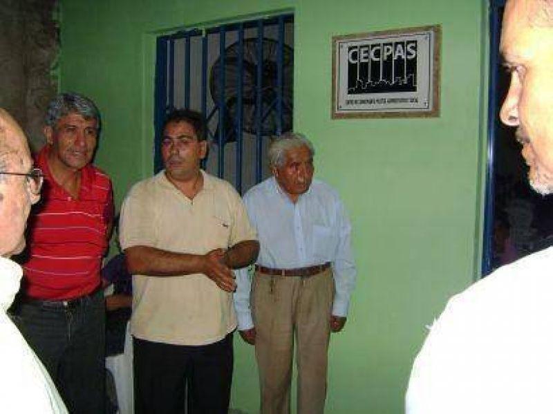 El CECPAS inauguró filial en Las Chacras