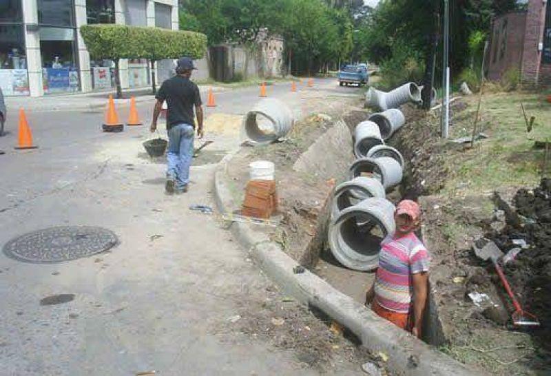 Avances en obras hidráulicas de avenida 29 y 6.