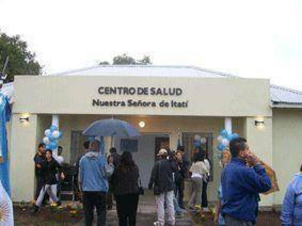 Los asfaltos de Cristina, para los centros de Salud.