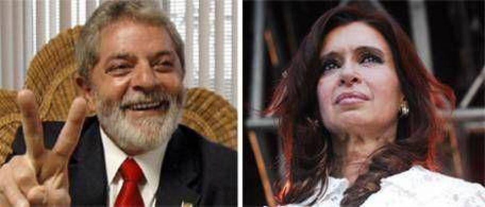 La popularidad de Lula, la contracara de Cristina
