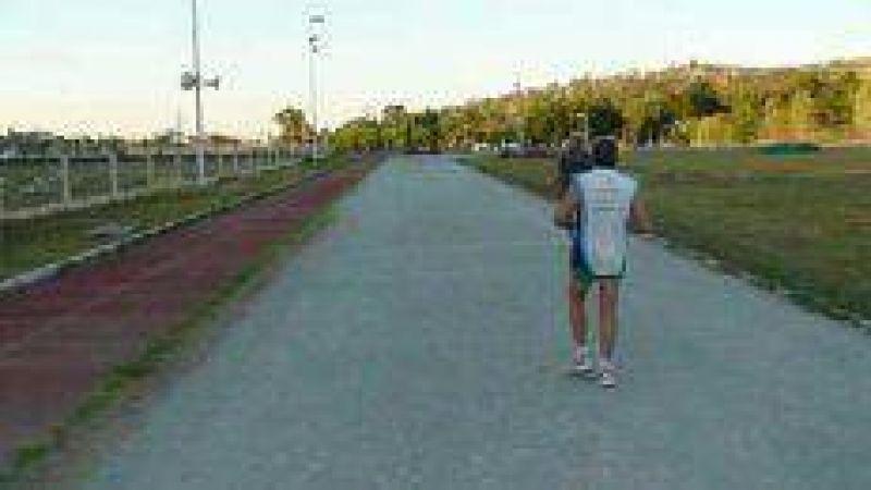Obras de mejoramiento en el polideportivo municipal.