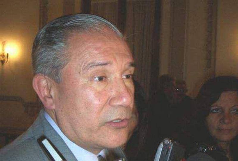 Barrionuevo habló de obras y de política