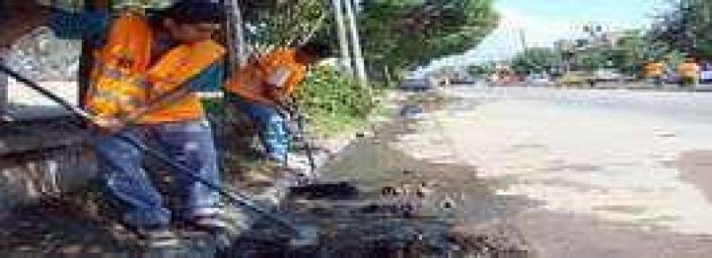 La comuna reanuda los operativos de limpieza en la ciudad