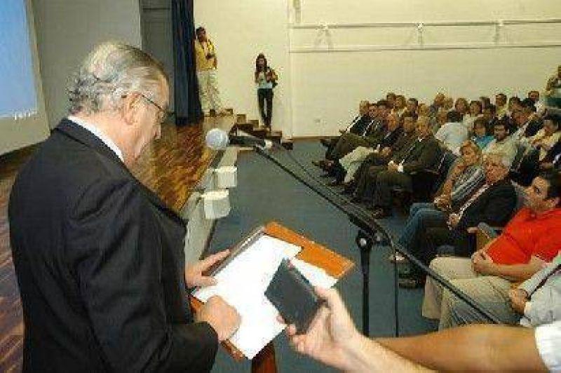 Presentaron Plan Energ�tico provincial