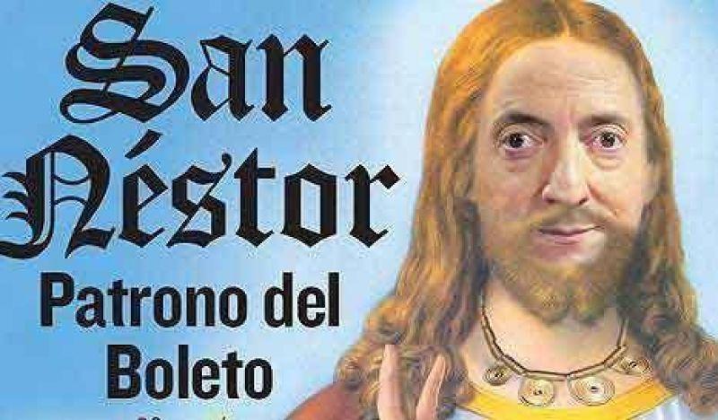 Cristina se S.U.B.E. al bondi con Néstor de cábala: