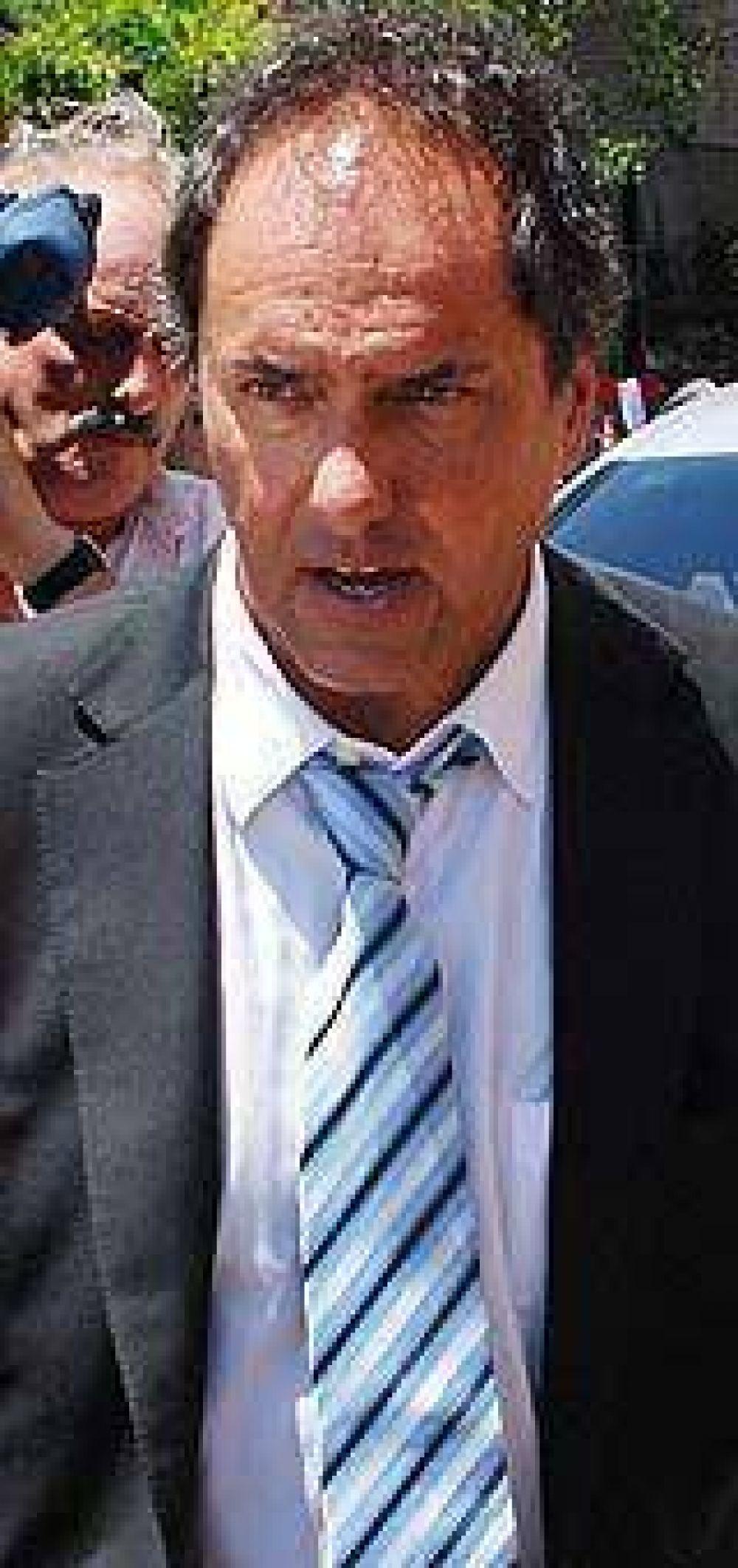 Scioli pidió a Massa aumentar la coparticipación de Buenos Aires debido a la sequía