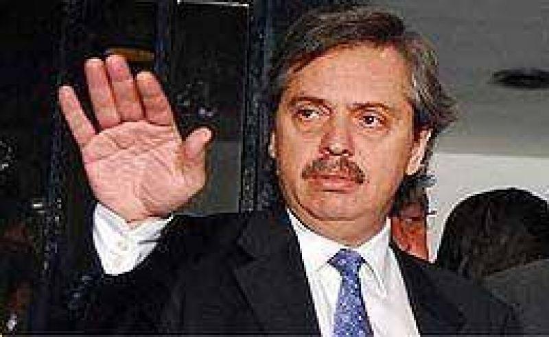 Apareció Alberto Fernández y reafirmó su vínculo con Kirchner
