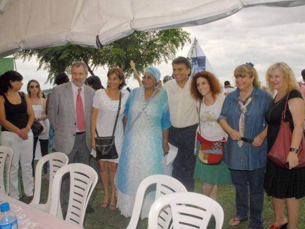 QUILMES: Fiesta de Iemanjá en la ribera