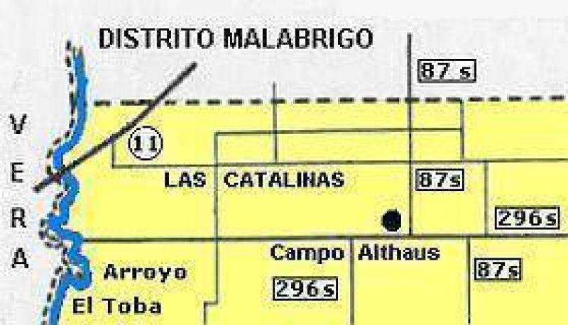 LA COMUNA DE ROMANG  Hace un desagüe en Las Catalinas