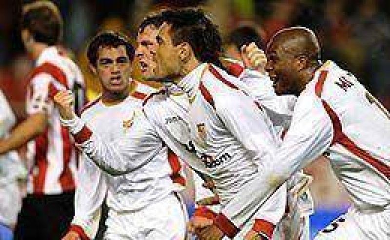 Duscher y Acosta acercaron al Sevilla a la final de la Copa del Rey.