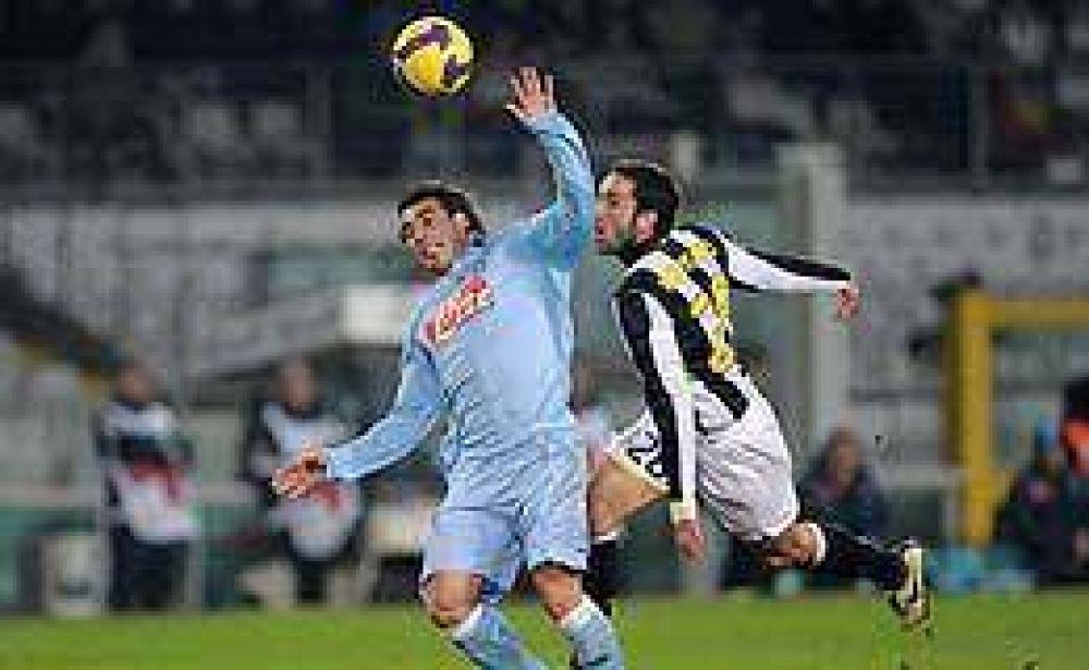 El Nápoli de Lavezzi y Denis se quedó afuera de la Copa Italia.