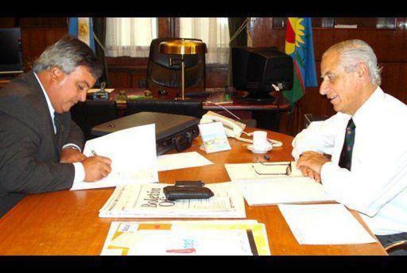 Se firma un importante convenio con la Provincia.