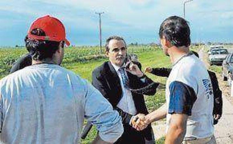 Moreno en Santa Fe: