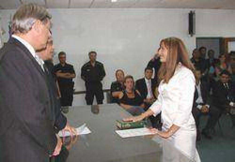 Juró como jueza de garantías la Dra. Aleli Kals.
