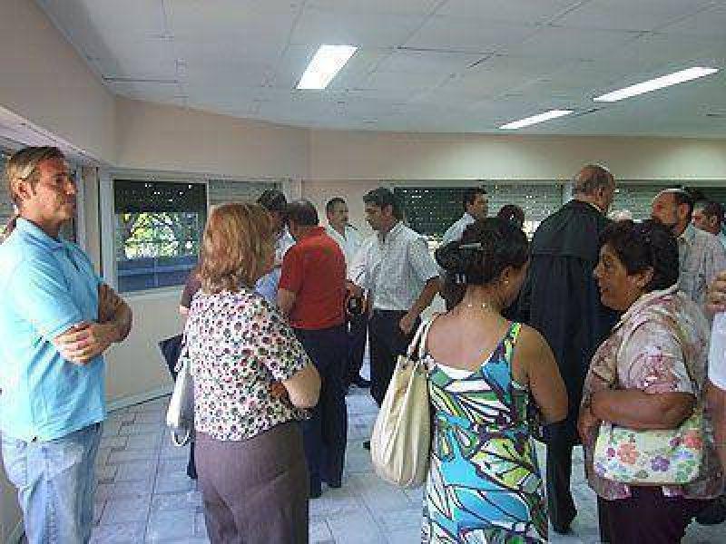 Inauguraron la sede del foro municipal de seguridad en Lomas