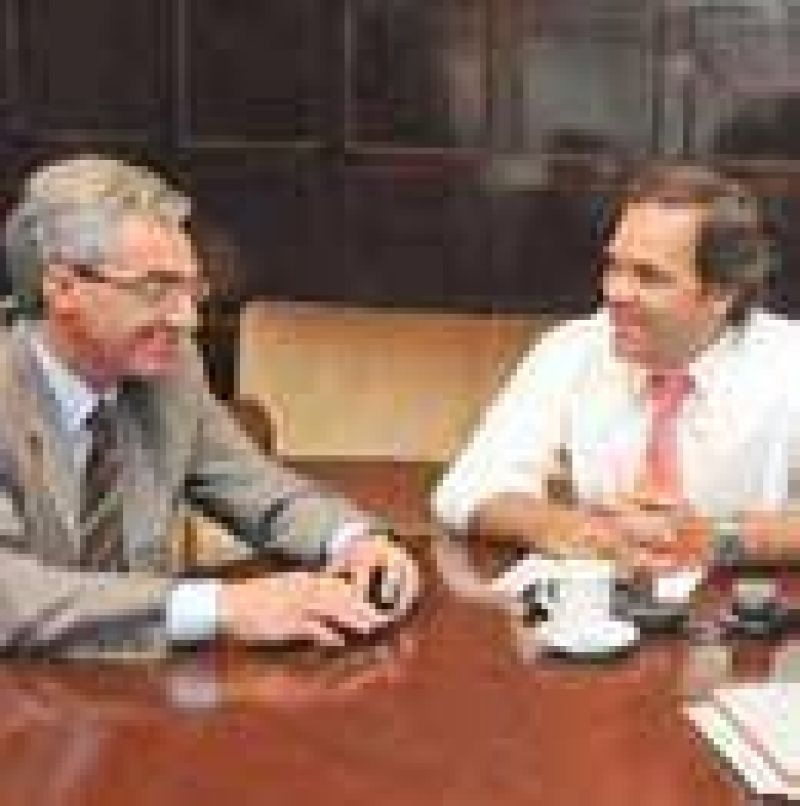 Meoni se reunió con Alberto Pérez, Jefe de Gabinete y Gobierno.