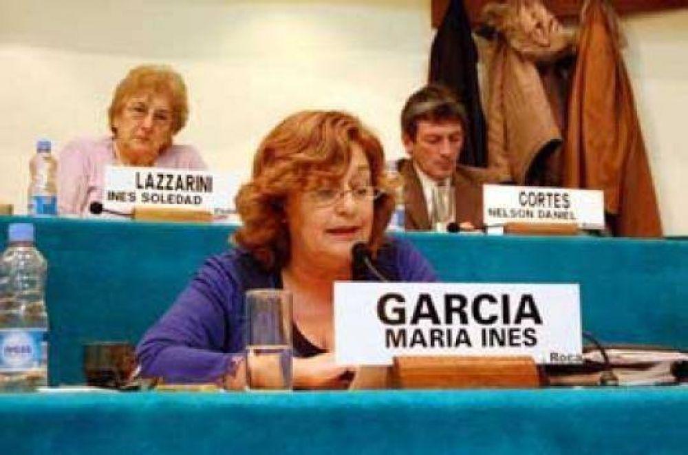 Río Negro: María Inés García podría ocupar la presidencia del bloque oficialista.