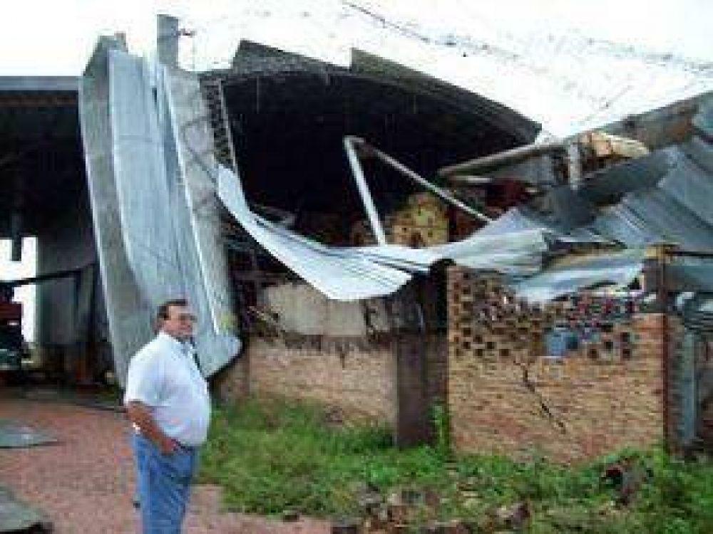 Santa Sylvina castigada por el tercer tornado en poco más de un mes
