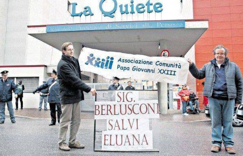 El drama de Eluana lleva a Italia a una crisis institucional.