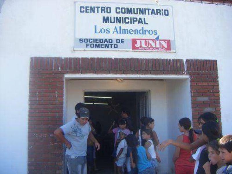 """El barrio """"Los Almendros"""", un sector de Junín que aún no cuenta con agua corriente ni cloacas."""
