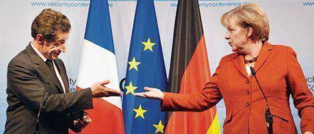 Sarkozy y Merkel, una alianza para enfrentar la crisis.