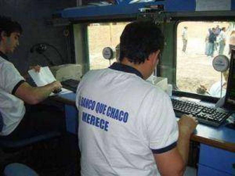 El Banco Móvil llega a todos los rincones del Chaco.