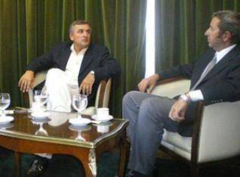 Desde Jujuy Gerardo Morales dio a conocer algunas precisiones sobre su reunión con el Vicepresidente de la Nación Julio Cobos.