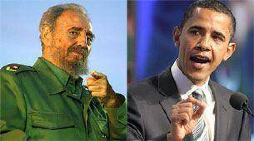 Para Fidel, Obama no alcanza