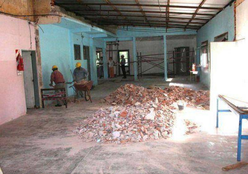 Importantes trabajos de mejora y ampliaci�n se realizan en la Escuela Nro. 13 de La Josefa.