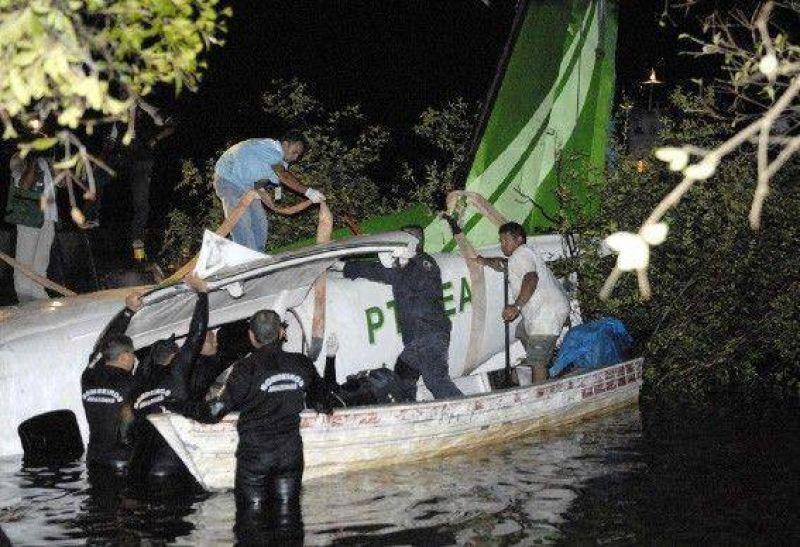 Son 24 los muertos por la tragedia a�rea en la Amazonia