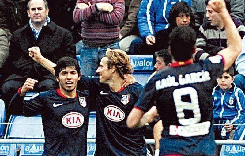 De la mano de Agüero revivió Atlético de Madrid y goleó.