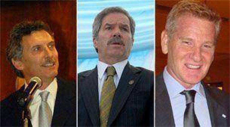 La cumbre Macri, Solá y De Narváez será el miércoles